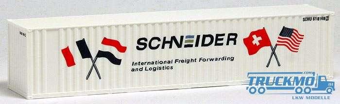 AWM Schneider 40ft. Container gerippt Cont.-Nr. 618148 2 491509