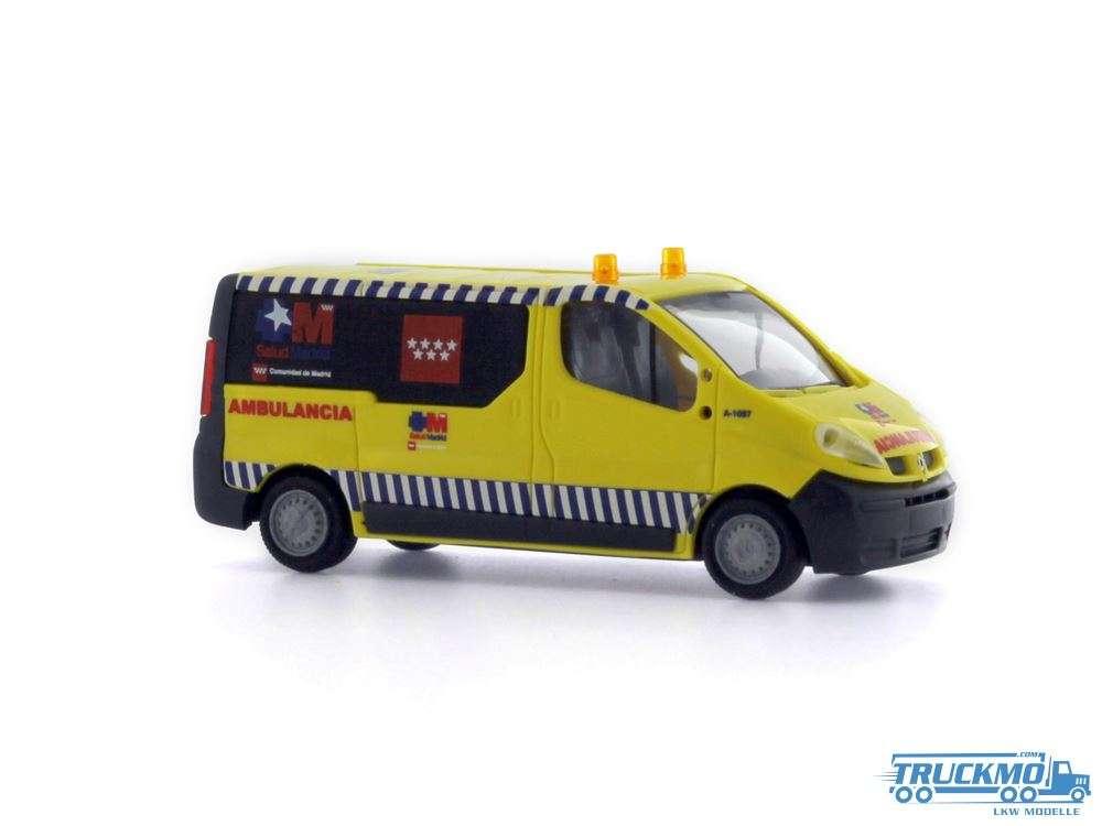 Rietze Ambulancia Madrid Renault Trafic 51389