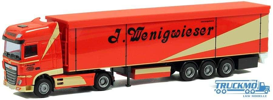 AWM Wenigwieser DAF XF 106 Super Space Cab Schubbodenauflieger 54433