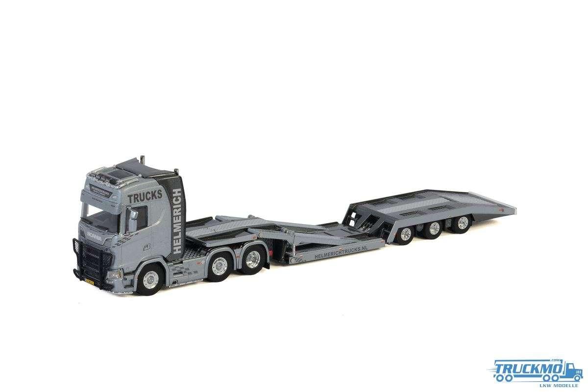 WSI Helmerich Trucks Scania S Highline CS20H Truck Transporter 01-2998