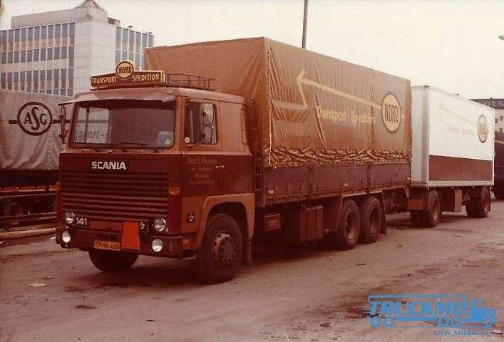 Tekno Nord Scania 141 Motorwagen Auflieger / Anhänger 75626