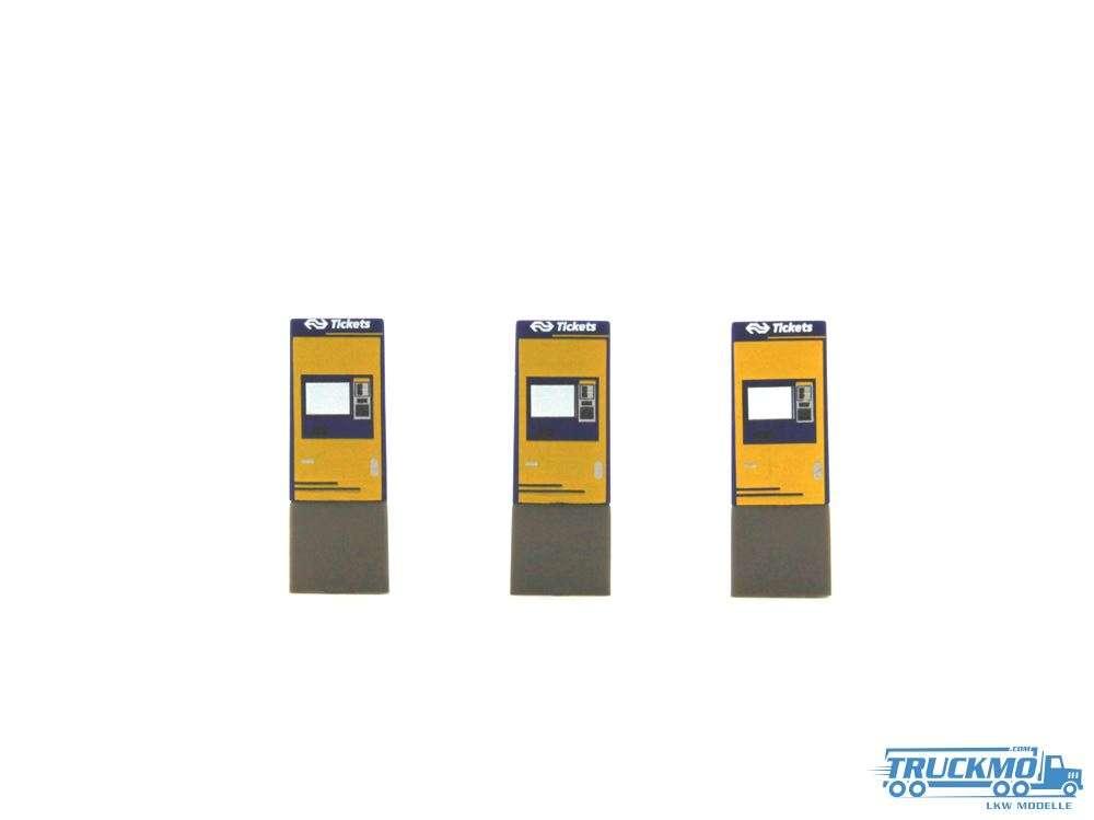 Rietze Fahrkartenautomat NS Groep 3 Stück 70295