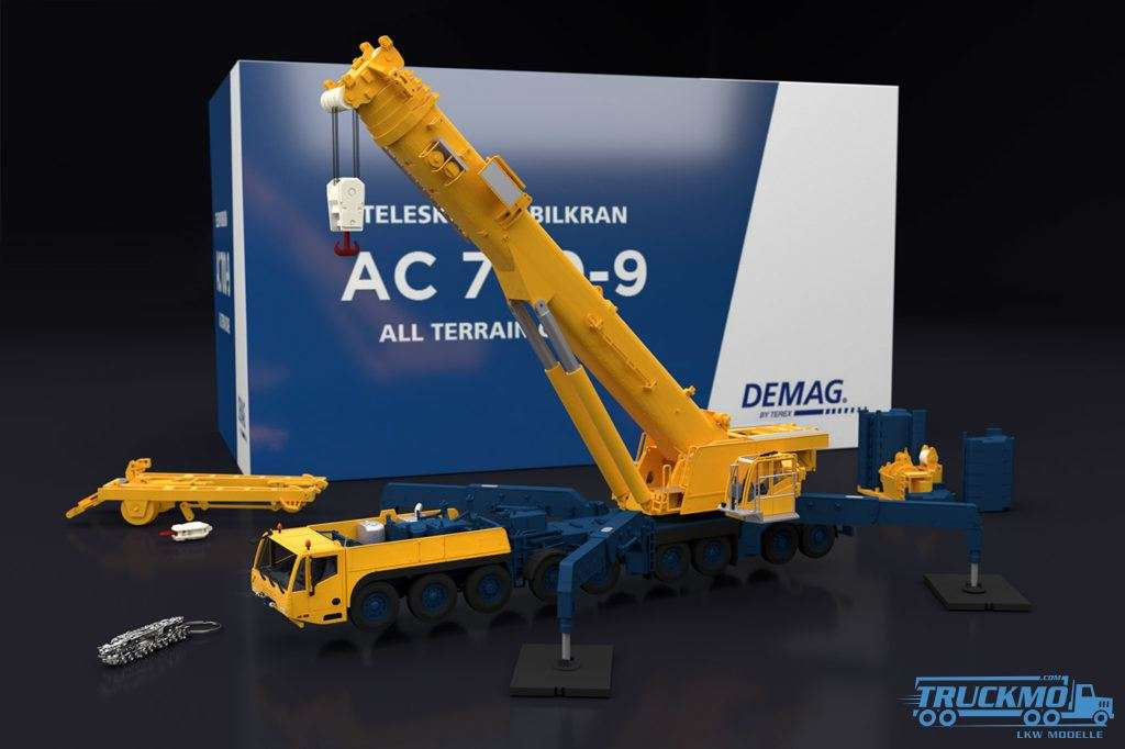 IMC Models Demag AC 700-9 Standard Edition Kran-Modell 31-0141