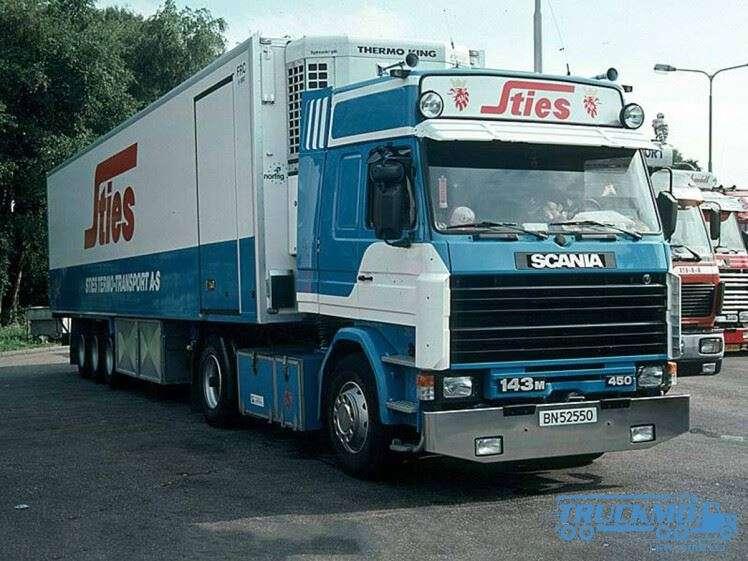 WSI Sties Scania 3 Series Kühlauflieger 01-2533