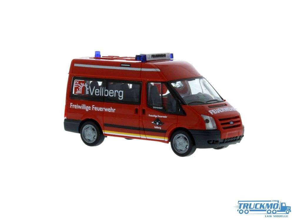 Rietze Feuerwehr Vellberg Ford Transit 06 52536