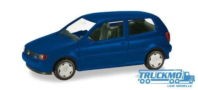 Herpa MiniKit: VW Polo 2-türig ultramarinblau 012140-005
