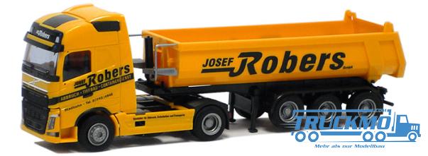 AWM Robers truck model Volvo 12 Glob. tip trailer volume | TRUCKMO ...