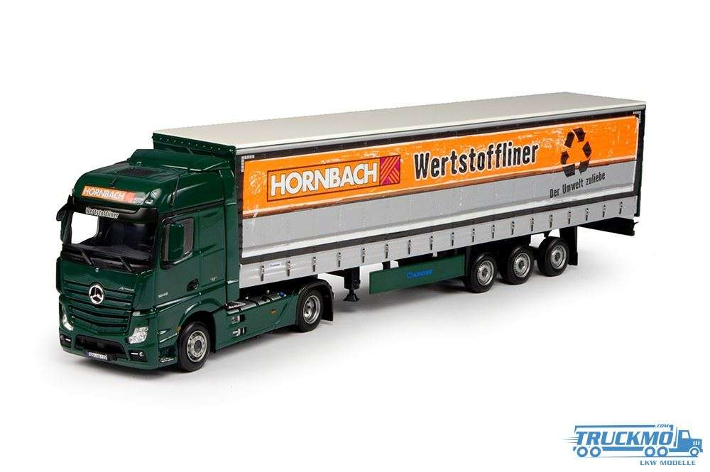 tekno hornbach lkw mercedes benz actros bigspace mit. Black Bedroom Furniture Sets. Home Design Ideas
