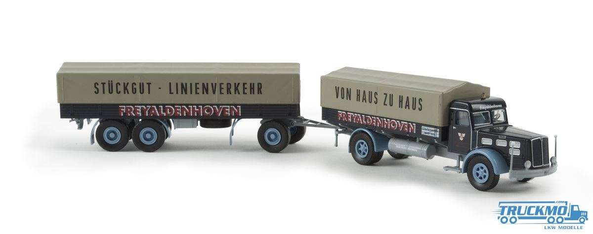 Brekina Freyaldenhoven Faun L 8 L PP-Zug 86209