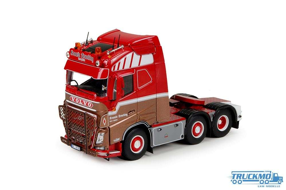 Tekno Krause Trucking LKW Modell Volvo FH04 Globetrotter 70508