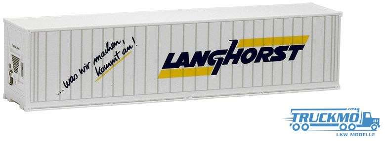 AWM Langhorst 40ft. HighCube Kühlcontainer 491694