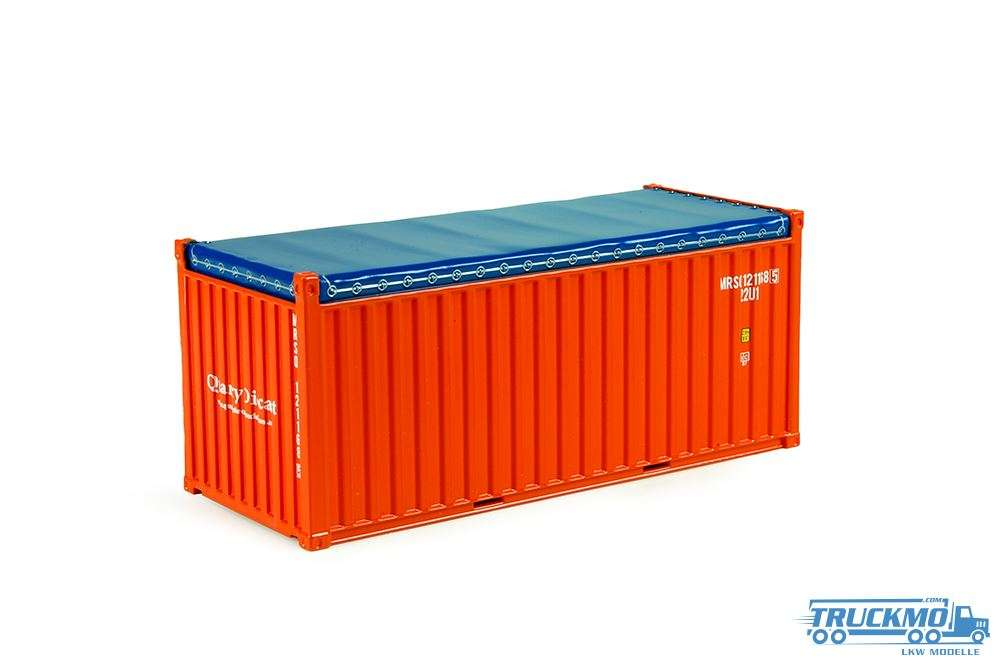 Tekno MRSQ 20ft open top Container 74057