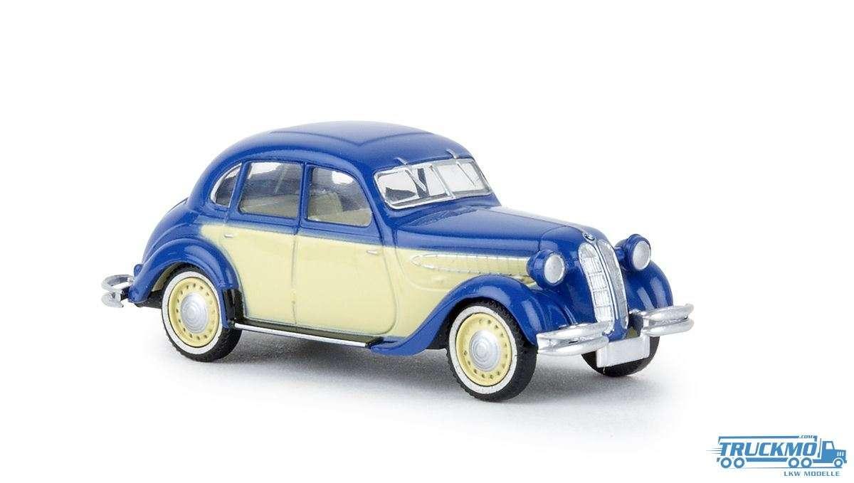 Brekina BMW 326 blau hellelfenbein 24559