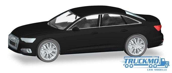 Herpa Audi A6 ® Limousine, brillantschwarz 420297