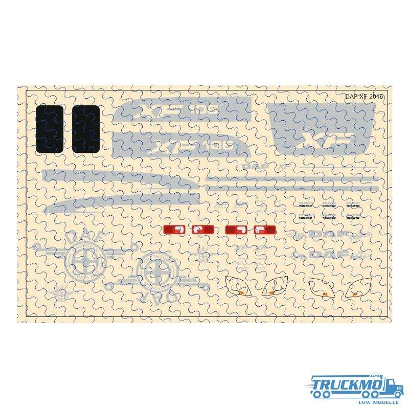Decal DAF XF 106 Dekor 1:87 12D-0553.0