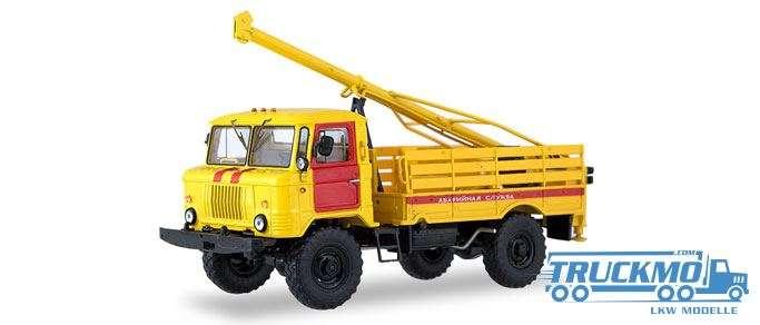 Start Scale Models BM-302 (GAZ-66) Bohrfahrzeug Notfalldienst 83SSM1196
