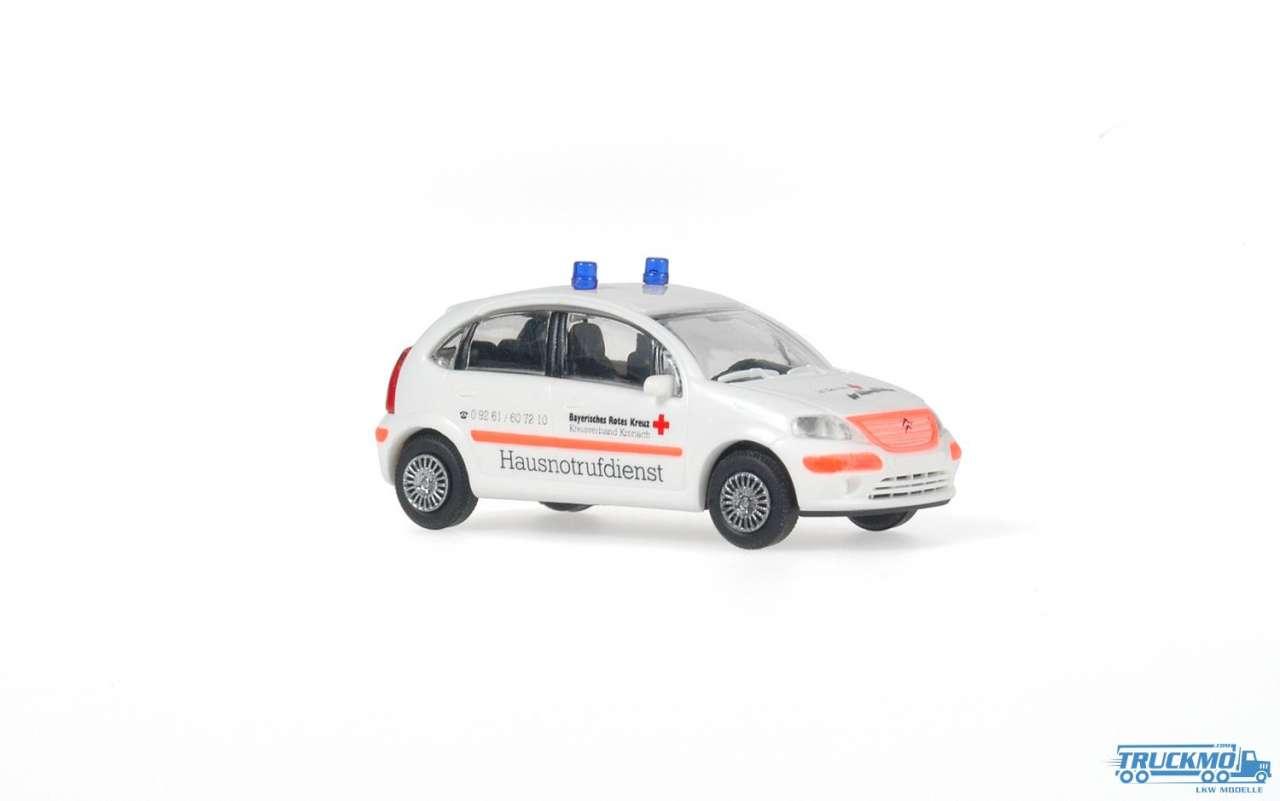 Rietze DRK Hausnotrufdienst Citroen C3 51166
