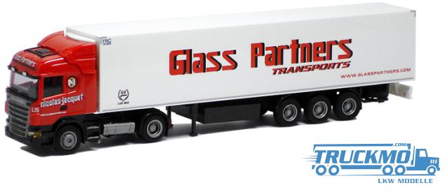 AWM Glass Partners Scania R09 Highline Kühlauflieger 74959