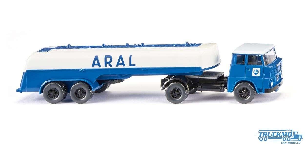 Wiking Aral Henschel HS 14/16 Tanksattelzug 080698