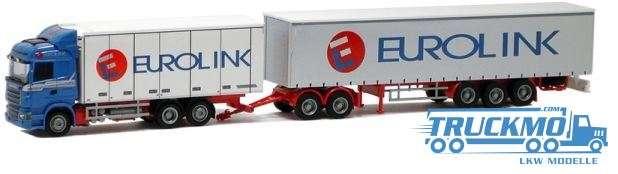 AWM Eurolink Scania 09 Highl. Eurokombi LKW-Modell