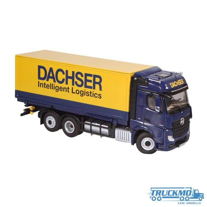 NZG Dachser Mercedes Benz Actros container truck with roller shutter 8451/02