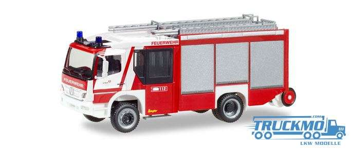 Herpa Feuerwehr Erfurt Mercedes-Benz Atego Ziegler Z-Cab 093798