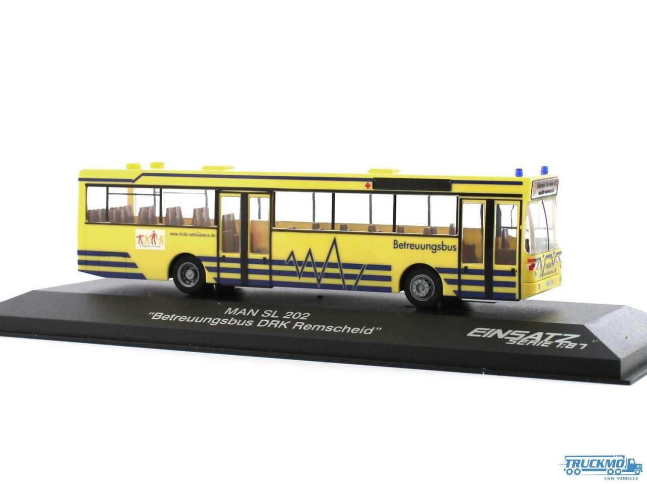 Rietze Betreuungsbus DRK Remscheid MAN SL 202 72125