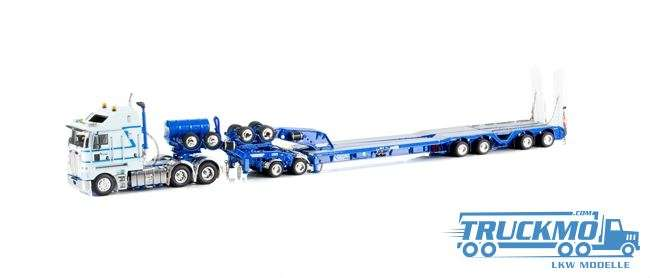 Drake Mc Aleese LKW-Modell Kenworth K200 2x8 Dolly und 4x8 dragline bucket trailer
