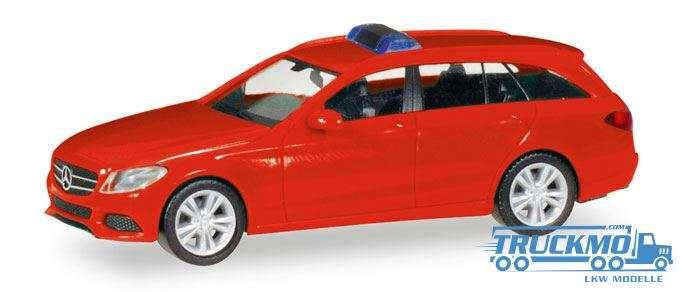 Herpa Herpa MiniKit: Mercedes-Benz C-Klasse T-Modell, rot 013284