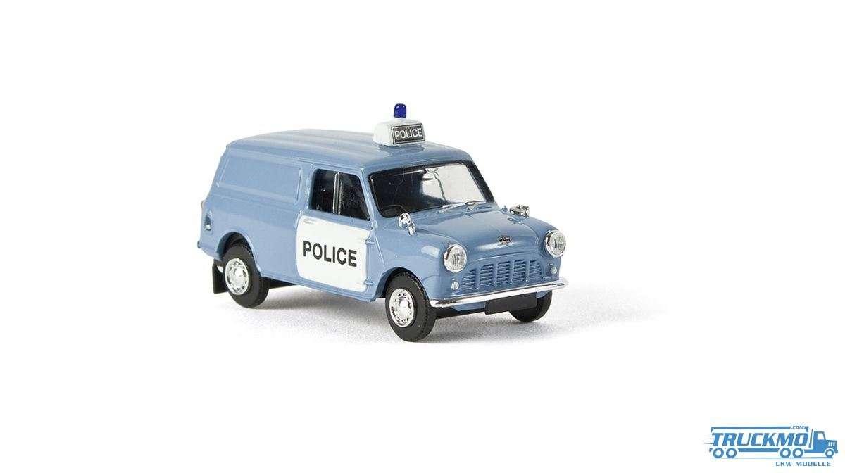 Brekina Police Austin Mini Van 15355