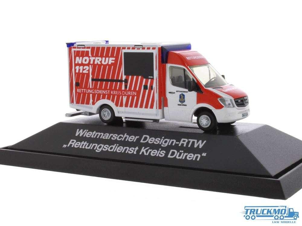 Rietze Rettungsdienst Kreis Düren Mercedes Benz WAS Design-RTW Rettungsdienst 72039