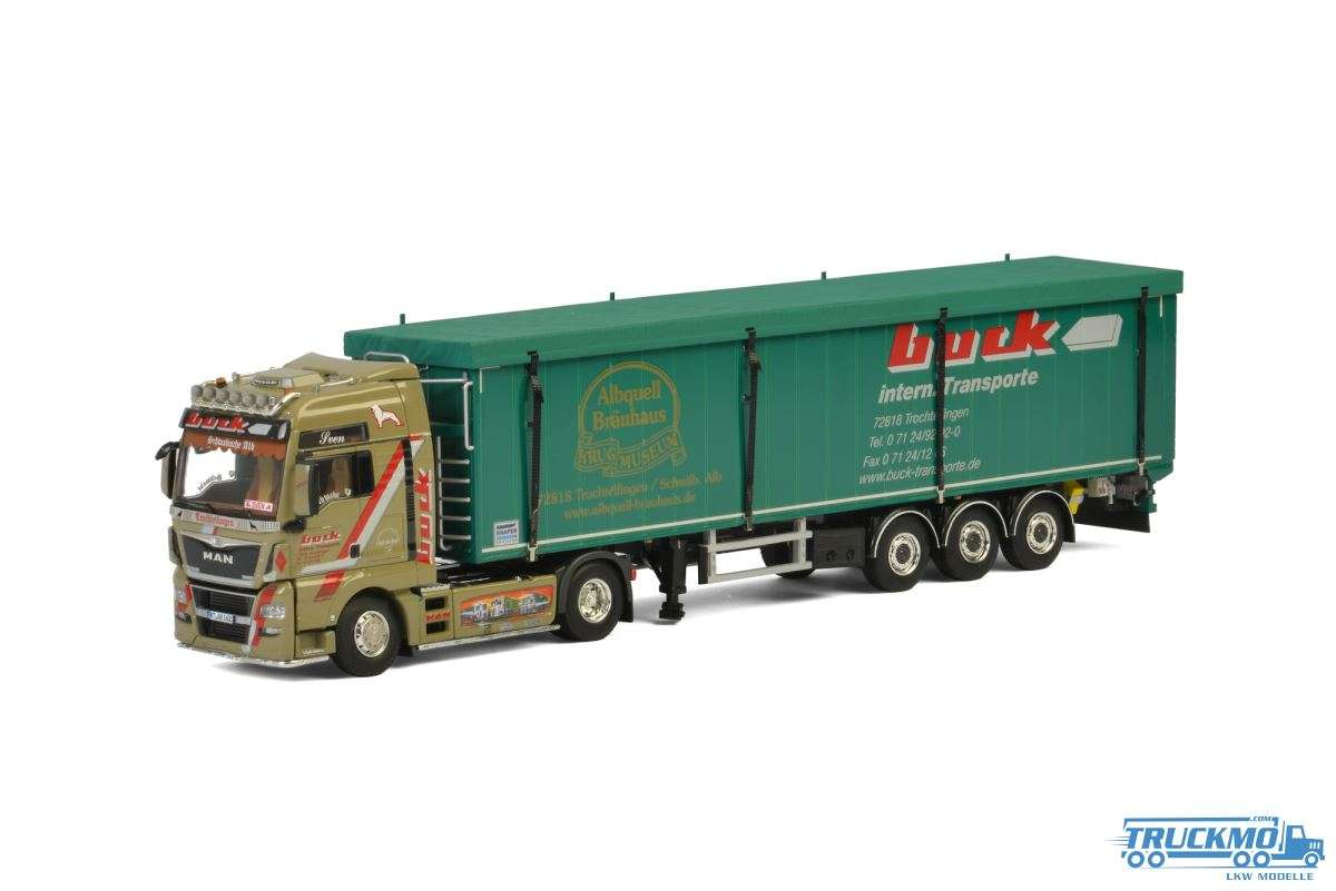 WSI Buck MAN TGX XXL Volume Trailer / Cargo Floor 3 Achs 01-2618