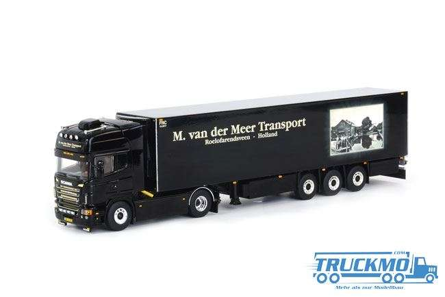 WSI M. van der Meer Transport Scania R Topline Kühlauflieger Thermoking (3 Achs)