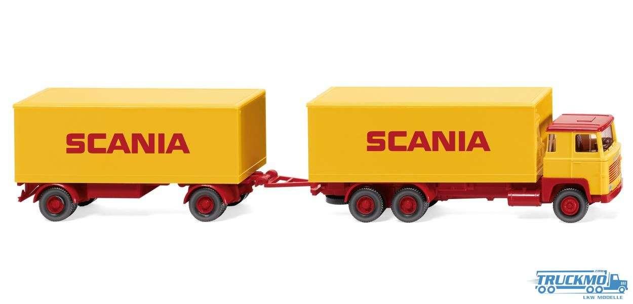 Wiking Scania Scania 111 Kofferhängerzug 045702