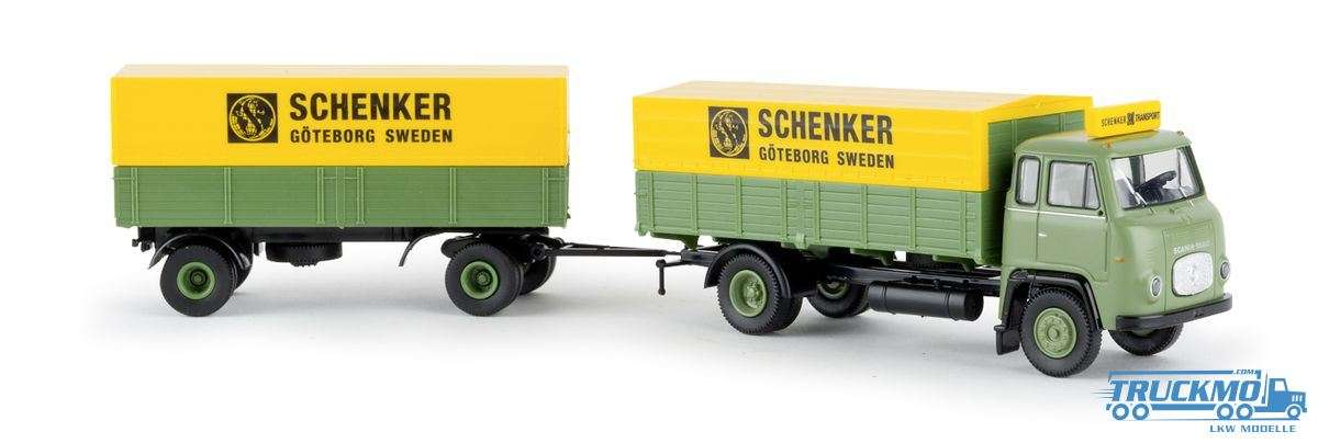 Brekina Schenker Göteborg Scania LB 76 Hängerzug 85053