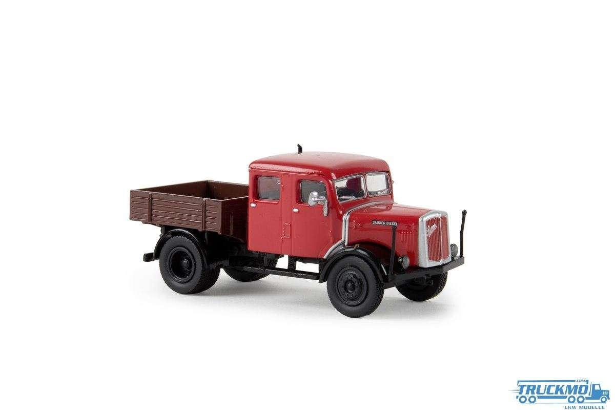 Brekina Saurer 7G1F-F Zugmaschine rot Starline 58097