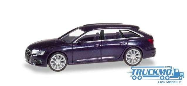 Herpa Audi A6 Avant firmamentblau metallic 430647-002