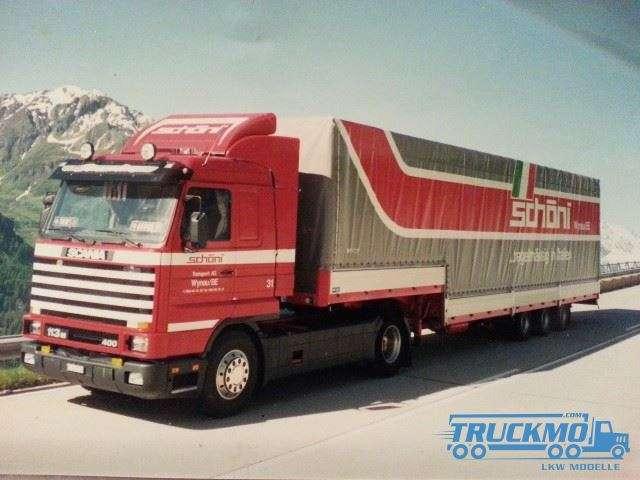 Tekno Schöni Scania 3-Serie Streamline klassischer 3-Achs Auflieger 73905