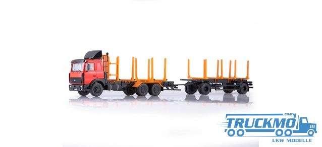 Start Scale Models MAZ 6303 wood transporter 83SSM7053