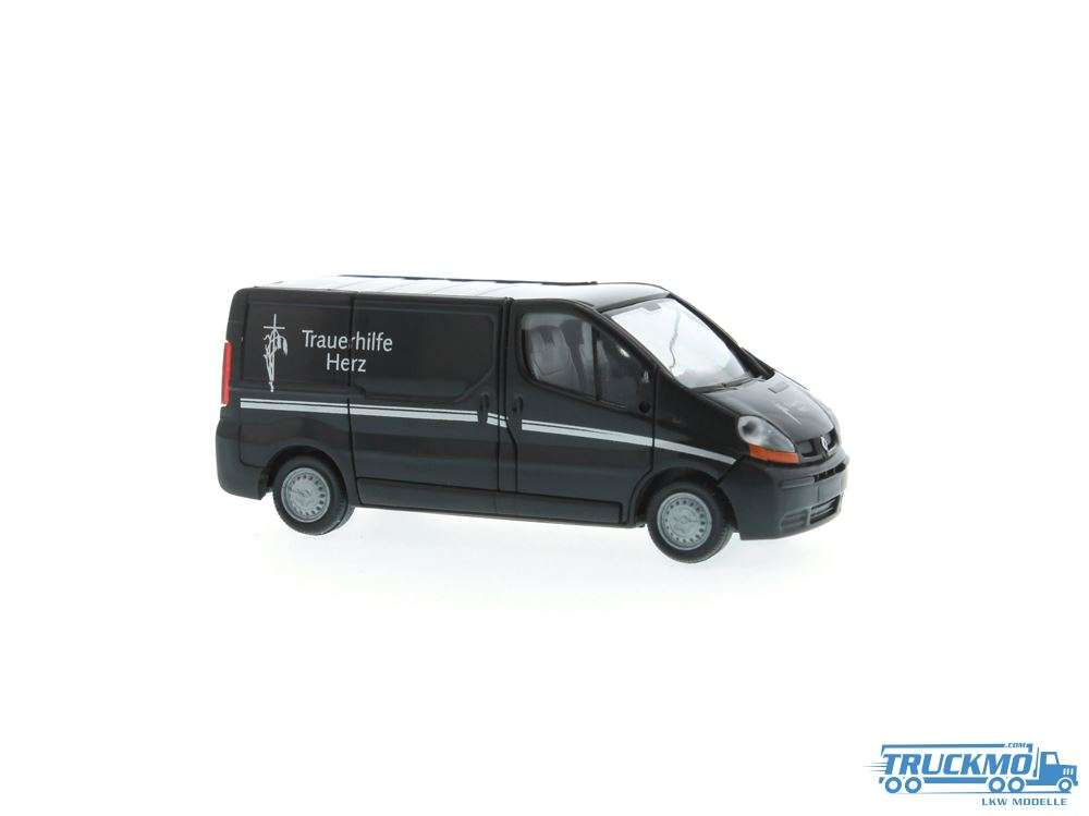 Rietze Renault Trafic Trauerhilfe Herz-Filmwagen 51392