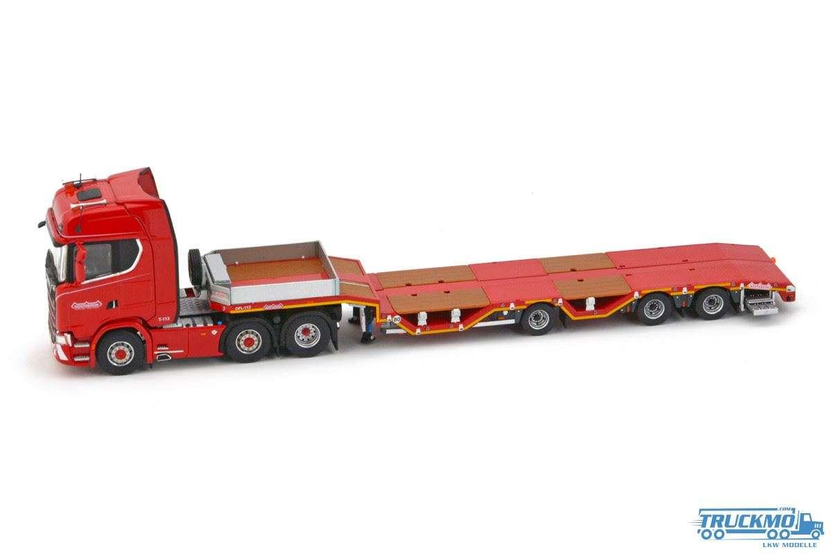 IMC models Scania S Highline 6x2 Nooteboom Tieflader Redline Series 5530675
