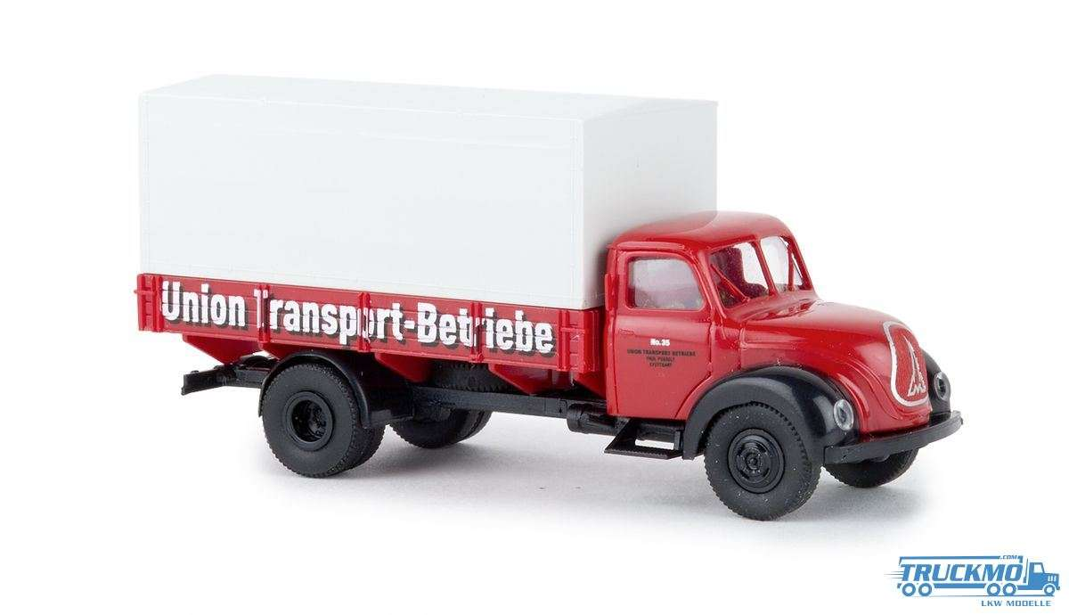 Brekina Union Transport Betriebe Stuttgart Magirus Mercur PP 42265