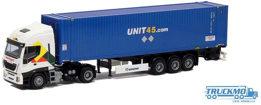 AWM Nothegger Unit 45 Iveco Stralis HiWay 45ft Container 75434