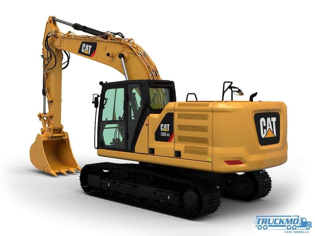 Diecast Masters CAT 320 GC Hydraulic Excavator 85570