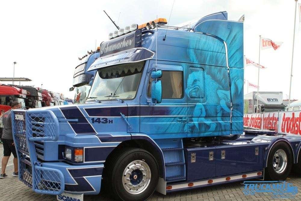 Tekno Schumacher LKW Modell Scania 3-serie Torpedo 69755