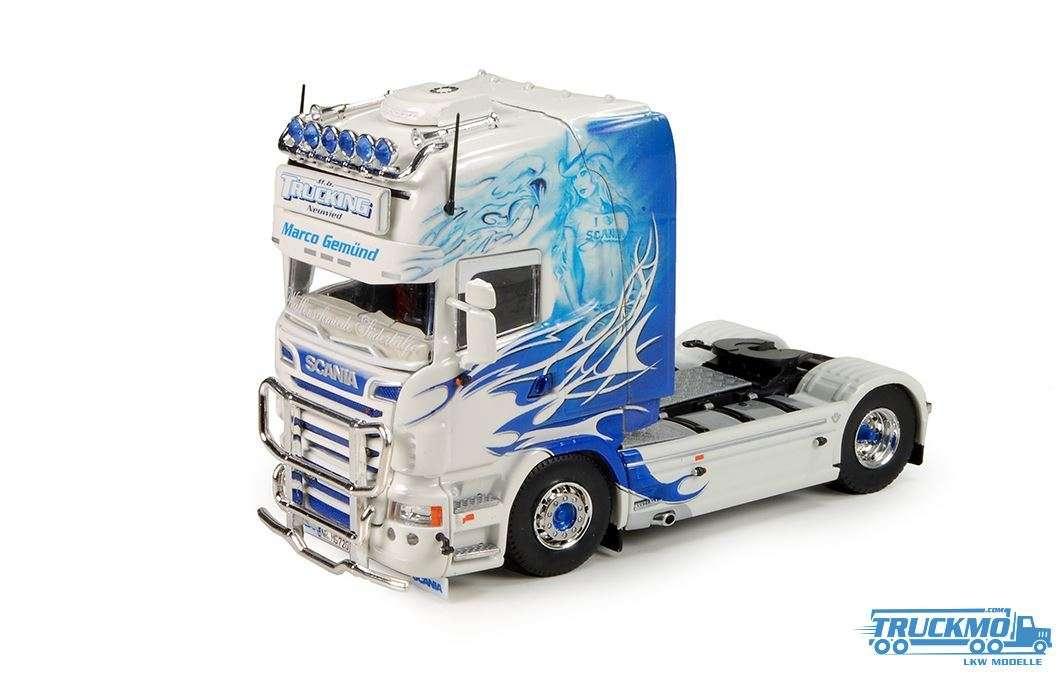 Tekno MG Trucking LKW Modell Scania R-Serie Topline 70071