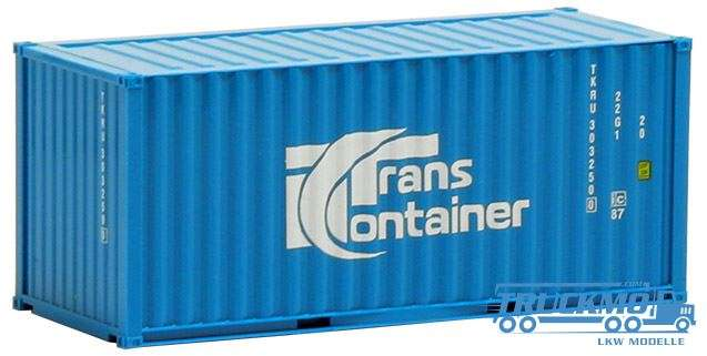 AWM TransContainer, 20ft. Container hellblau 491427