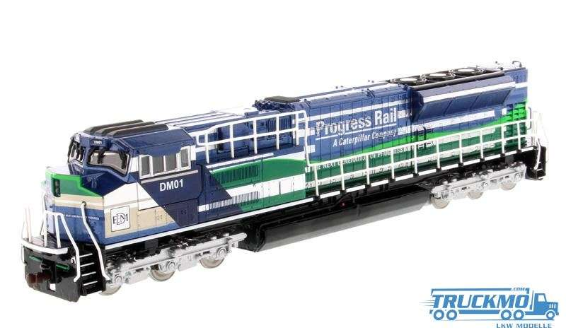 Diecast Masters CAT SD70ACe-T4 Locomotive Blue & Green 85534