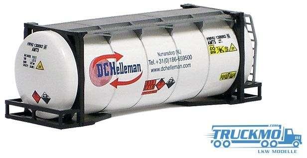 AWM Helleman 20ft. van-Hool Tankcontainer überlang 491175