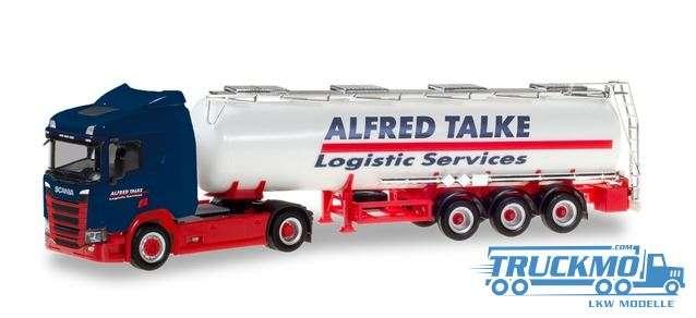 Herpa Alfred Talke Scania CR 20 ND Chemietank-Sattelzug 310383